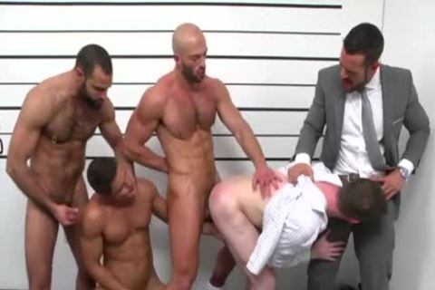big dong homosexual oral-service And cumshot
