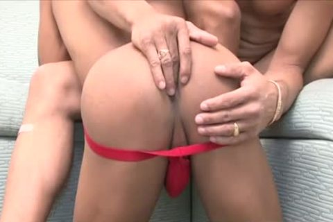 Latin homosexual wazoo fuck And Creampie