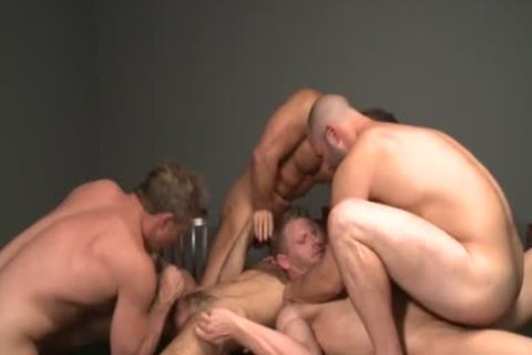 Muscle gay oral pleasure stimulation And goo flow