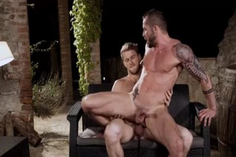 humongous ramrod homo irrumation-sex And ejaculate flow