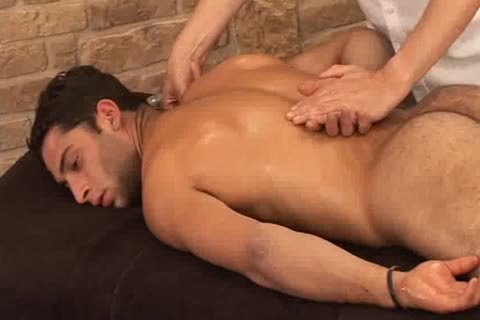stunning Hunky Adrian Getting wonderful Sensual Massage On His Searing Body And Hard Tool