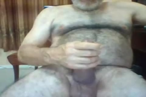 old man stroke On cam