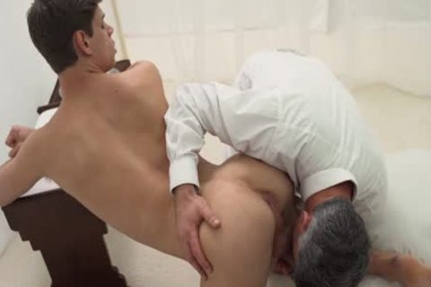 master Daddy ploughs Sub twink bareback