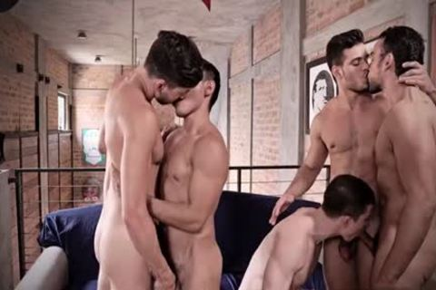 large cock homosexual anal-copulation With cumshot