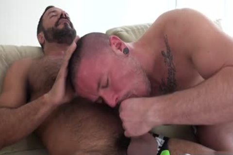 Muscle homosexual blowjob And sperm flow