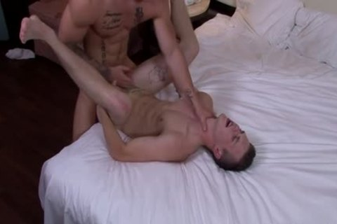 Muscle twink Flip Flop And ejaculation