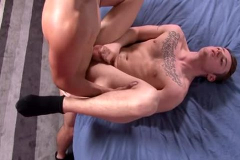 large penis homo anal sex And cum flow