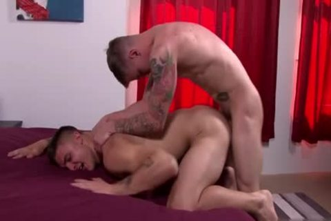 gigantic cock gay butthole nail And goo flow