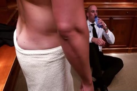 Muscle homo butt invasion And cum flow