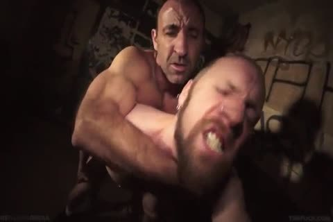 Steven Richards bare With Pete Summers