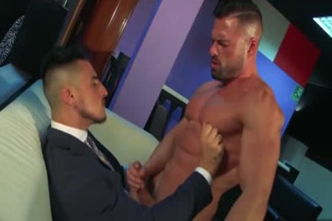 Muscle homosexual ass job With ejaculation
