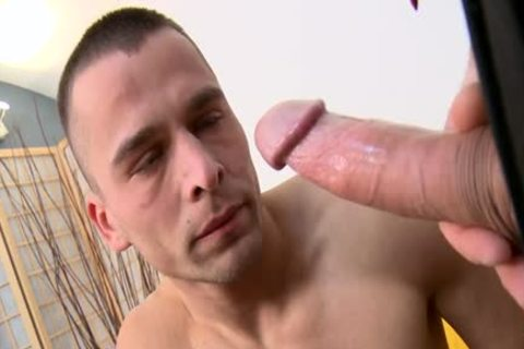 massive penis Daddy Casting With Facial