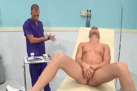 humongous shlong Doctor three-some With ejaculation