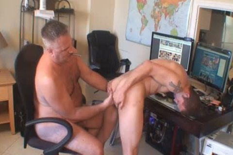 Daddy bonks Gavin coarse And raw