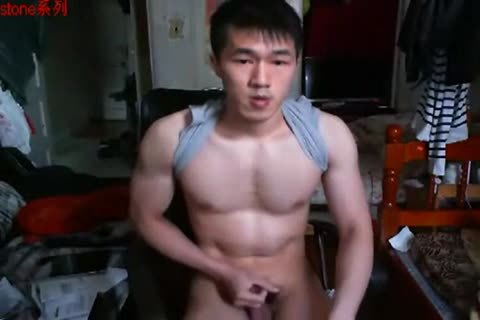 A stylish Chinese Hand Job In web camera