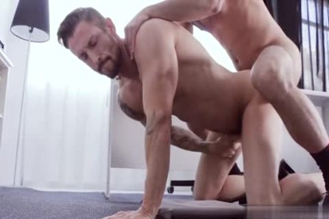Muscle gay arse stab And Facial