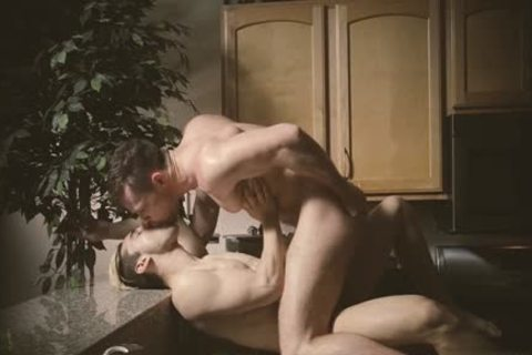 Muscle Wolf Dp And cumshot