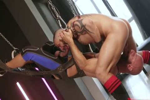 Muscle homosexual Fetish And cream flow