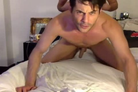 Real Male's anal bareback permeated Live On Cruisingcams Com