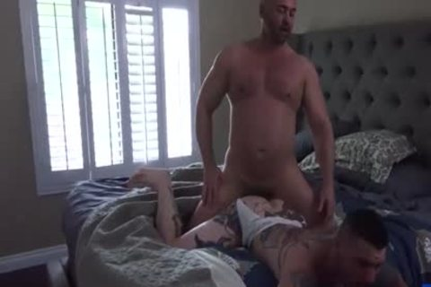 Tattoo homo butthole sex With Creampie