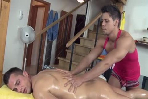 kinky Daddy butt invasion And Massage