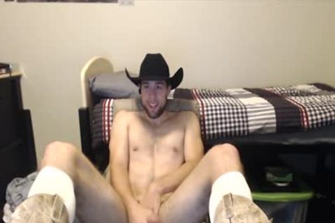 Toned Hung slutty dude Shows Why Cowboys Do It better