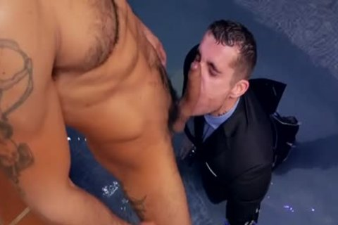 Muscle homosexual anal job With cream flow