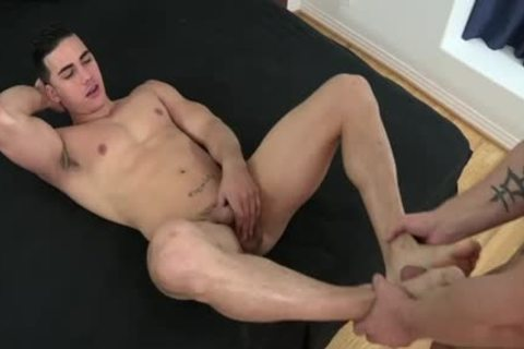 Muscle homosexual Foot With Facial