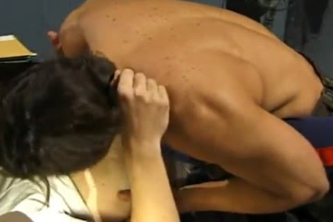 homosexual Military ass Blast In Captain's Office