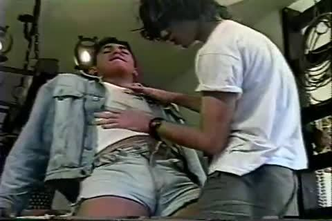 gay Brazilian teen sucks dong And Takes It In The ass