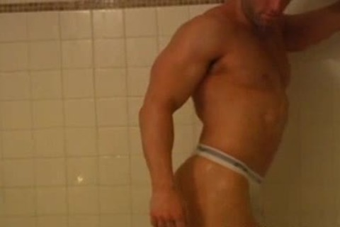 filthy Logan Showering