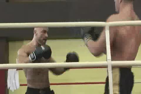 Erik Rhodes And Fracois Sagat Boxing bang