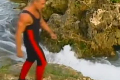 Blazing Waters naughty Outdoor Adventure With big ramrod lascivious Hunks