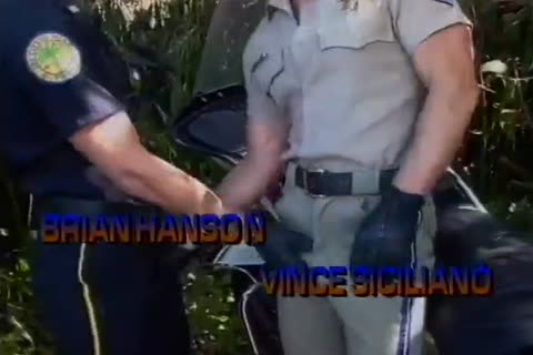 Officers gay Sex Outdoor Hard Thrill