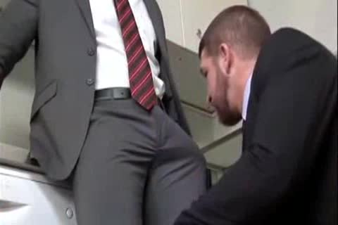 Gay office suit sex