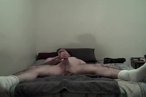 lad spanking Himself With sex tool