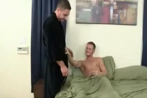boys hammer in advance of bed