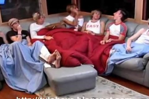 humongous Slumber Party gay Porn