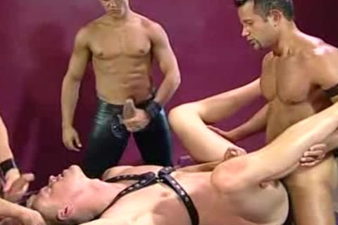 Brad Patton Leather threesome