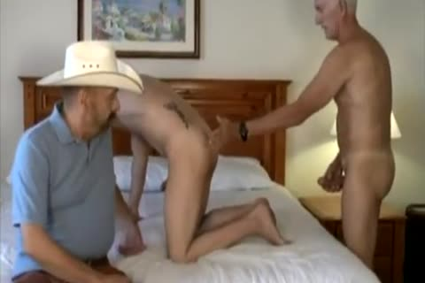 Cowb-y With Two older men