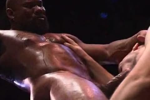 Remy Delaine banged by Muscled-Up black dude