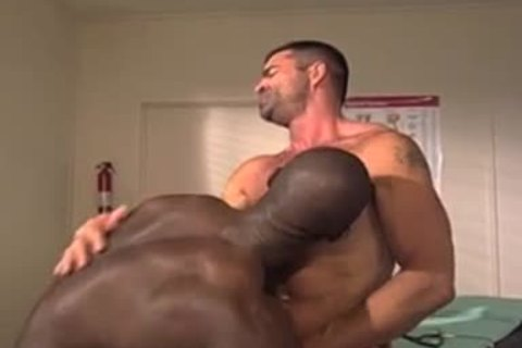 Interracial Doctor And Patient