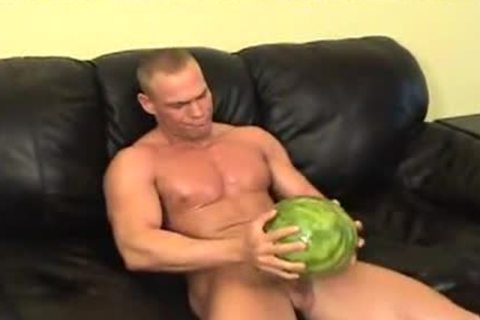 he likes To Jerkoff And bonks The Melone
