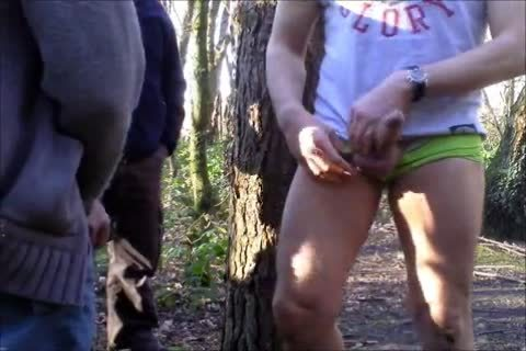 Back Up And Running The Above Titled clip scene From Last Summer, Watch As I Pick Up Two twinks Who Then Spit-roast Me Against A Tree,while Lots Lot Of twinks Stand Around wanking But majority Out Of Camera shot he-he