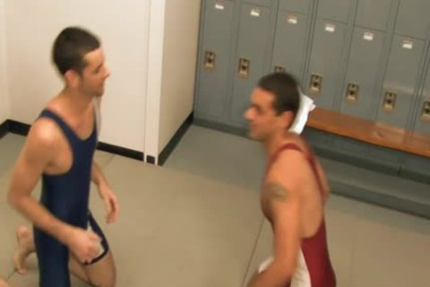 naughty cocks slamming In Tthis guy Locker Room