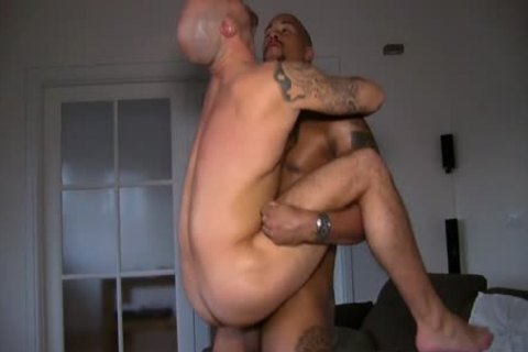 Victor And Ben Statham In A homo Sex Show