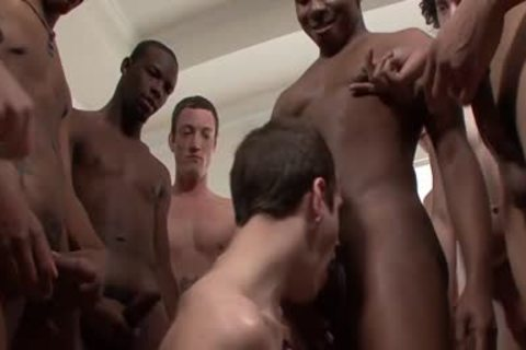 group Of dark And White homosexuals