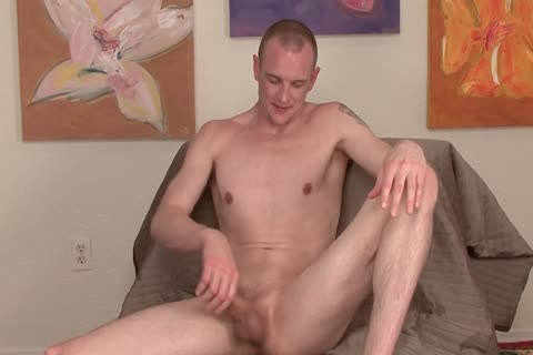 he is Into Playing With His Hard homosexual penis