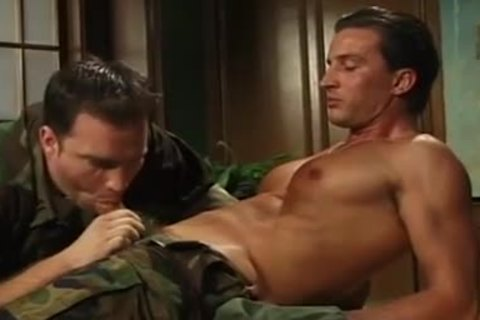 boyz In Uniform sucking & wazoo pounding