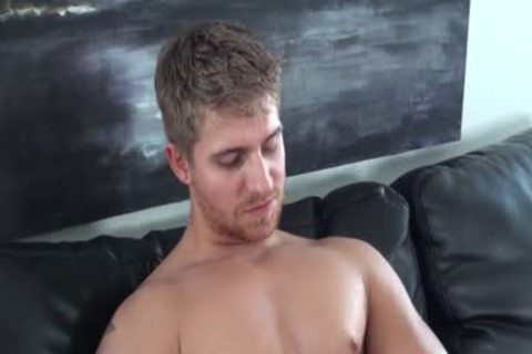 HD GayCastings - brawny Texas boy banged On Casting bed
